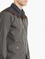 Kolor Grey Contrast Yolk Jacket
