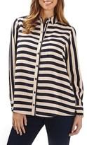 Topshop Stripe Maternity Shirt