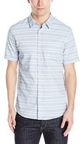 Burnside Men's Society Short Sleeve Woven Shirt