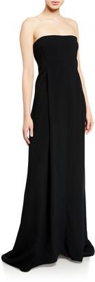 Victoria Beckham Sequined Bustier Floor-Length Gown