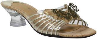 J. Renee Ommika Butterfly Statement Heel Sandal