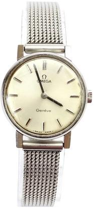Omega De Ville Silver Steel Watches