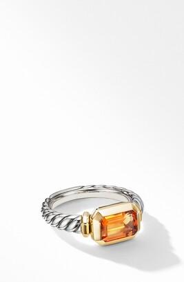 David Yurman Novella Ring with 18K Yellow Gold