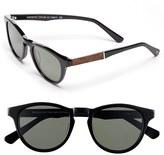 Shwood Men's 'Francis' 49Mm Polarized Sunglasses - Black/ Elm/ G15