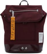 Kenzo Burgundy Pull-Tab Backpack