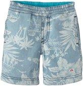 Appaman Reversible Shorts (Baby) - Chambray-3-6M
