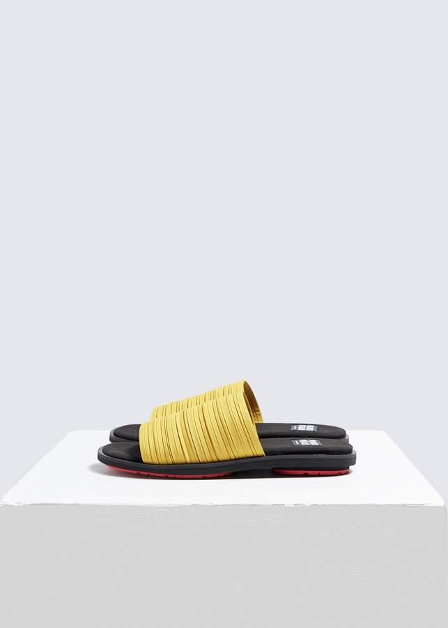 Pleats Please Issey Miyake Pleated Slide