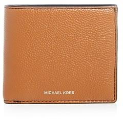 Michael Kors Mason Pebbled Leather Bi-Fold Wallet