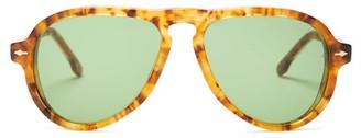 Jacques Marie Mage - Montana Aviator Tortoiseshell-acetate Sunglasses - Womens - Tortoiseshell