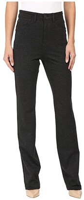 FDJ French Dressing Jeans PDR Wonderwaist Suzanne Straight Leg in Charcoal (Charcoal) Women's Jeans