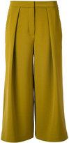 Roksanda cropped palazzo pants - women - Cotton/Polyester/Spandex/Elastane/Viscose - 10