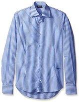 Just Cavalli Men's Striped Sportshirt