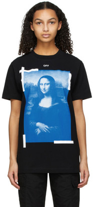 Off-White Black Mona Lisa T-Shirt