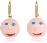 Christopher Kane Face Charm Earrings