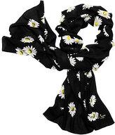 Kate Spade Falling daisy oblong scarf