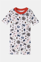 Hanna Andersson Two Piece Fitted Pajamas (Toddler) Multi Red 3T