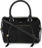 DKNY Calf hair leather satchel