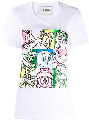 Iceberg Looney Tunes-print cotton T-shirt