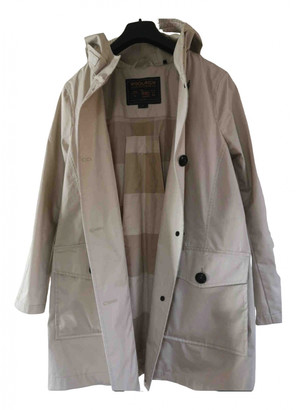 Woolrich Beige Cotton Coats