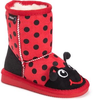 Muk Luks Reese Ladybug Toddler Girls' Winter Boots