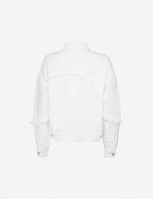 J Brand Drew cropped denim jacket