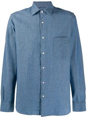 Aspesi Plain Long-Sleeved Shirt