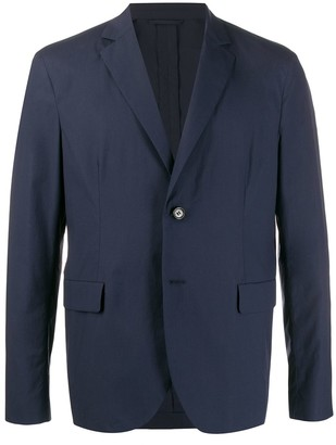 Acne Studios Single-Breasted Soft Construction Blazer