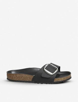 Birkenstock Madrid big buckle leather sandals