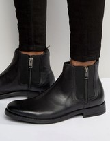 Diesel Anklook Zip Chelsea Boots