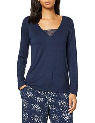 Pour Moi? Women's Lazy Days Secret Support Long Sleeve Top Pyjama,(Size:)
