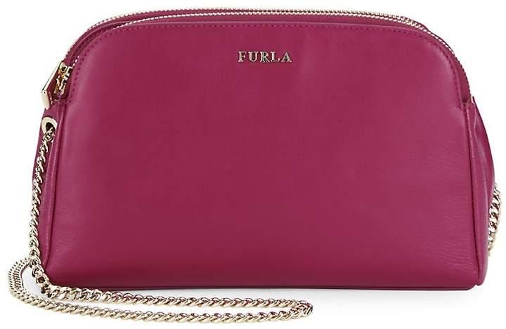 Furla Women's Capriccio XL Leather Crossbody Pouch