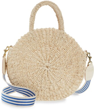 Clare Vivier Moyen Alice Straw Bag