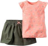 Carter's 2-pc. Top and Skirt Set - Baby Girls newborn-24m