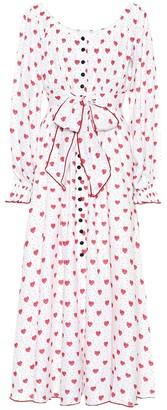 Gül Hürgel Printed linen dress