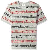 Champion LIFE Men's Heritage Tee-All Over Script