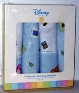 Disney Baby 4 Flannel Receiving Blankets Bedtime Stories