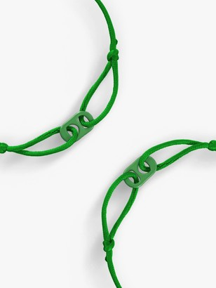 Togetherband Goal 3 - Good Health and Well-Being Mini Bracelet, Pack of 2, Green