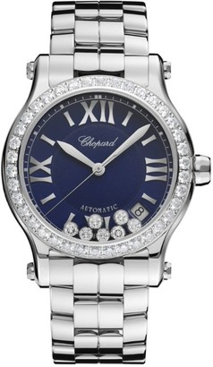 Chopard Stainless Steel Happy Sport Automatic Watch 36mm