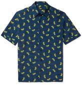 Fendi Printed Woven Shirt