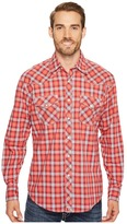 Wrangler 20X Competition Ac Shirt Button Plaid Men's T Shirt