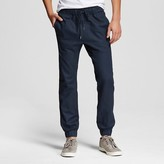 Mossimo Men's Navy Linen Joggers