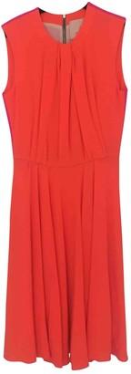 Roksanda Ilincic Orange Wool Dress for Women