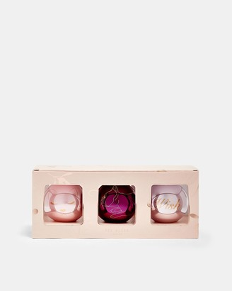 Ted Baker Christmas Bauble Trio
