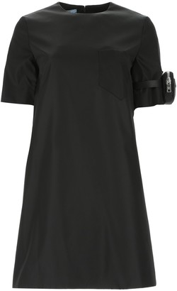 Prada Pouch Sleeve T-Shirt Dress