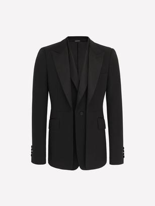 Alexander McQueen Double-Lapel Tuxedo Jacket