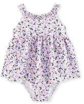 Kate Spade Floral Ruffle One-Piece Swim Dress, Multicolor, Size 12-24 Months