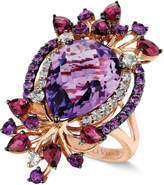 LeVian Le Vian Crazy Collection® Multi-Stone Ring in 14k Strawberry Rose Gold (8 ct. t.w.)