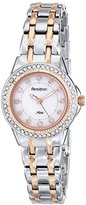 Swarovski Armitron Women's 75/5194MPTR Crystal Accented Two-Tone Bracelet Watch
