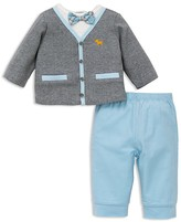 Little Me Infant Boys' Preppy Pup Pants Set - Sizes 3-12 Months