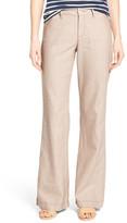 NYDJ &Claire& Linen Blend Wide Leg Trousers (Regular & Petite)